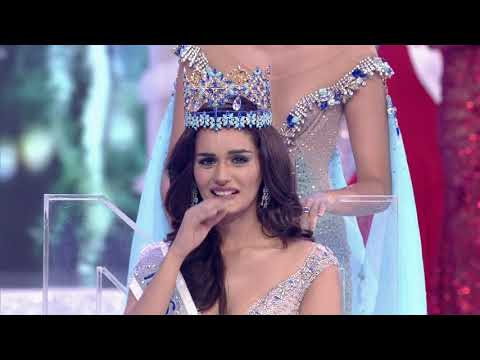 Miss World 2017 - Manushi Chhillar's Crowning