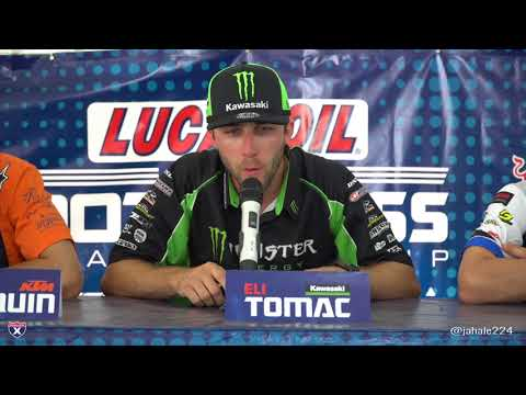 Racer X Films: High Point 2018 450 Press Conference