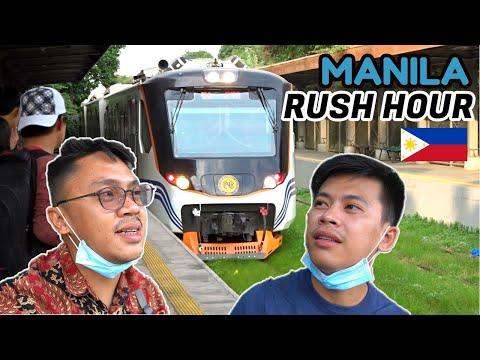 PNR INKA TRAIN RIDE During RUSH HOUR! + Train Hunting At Dela Rosa Station