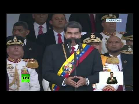 Discurso de Nicolás Maduro en el desfile militar por el Día de la Independencia de Venezuela