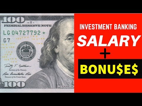 Investment Banking SALARY & BONUSES For ANALYST | 2019