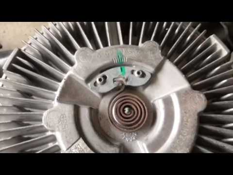 Adjusting temperature on viscous fan clutch