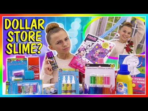 DOLLAR STORE SLIME | PASS OR FAIL? | We Are The Davises