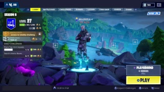 New account for fortnite
