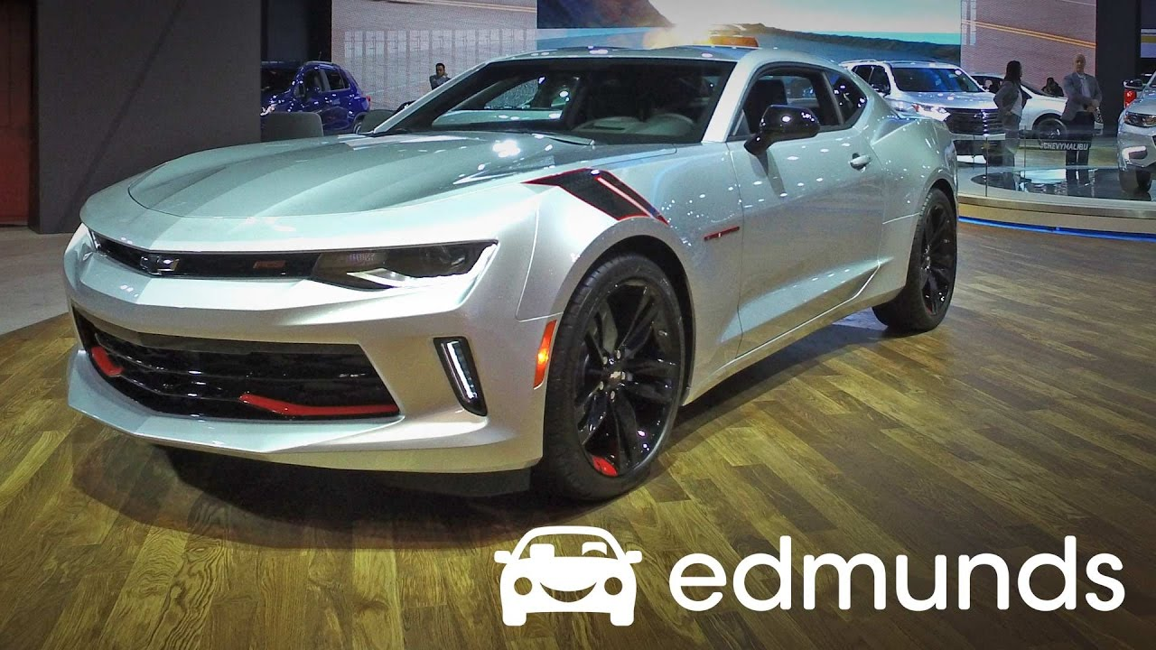 2017 Chevrolet Camaro Review Features Rundown Edmunds