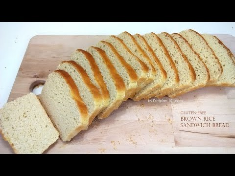 Gluten-Free Brown Rice Sandwich Bread | Dietplan-101.com