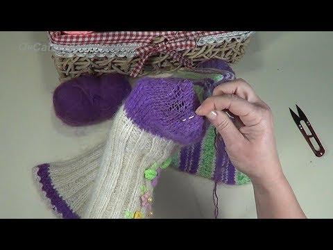 Как заштопать вязаные шерстяные носки