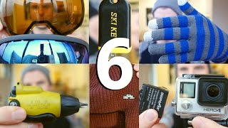 Video Top 6 Snowboard Accessories download MP3, 3GP, MP4, WEBM, AVI, FLV Agustus 2018