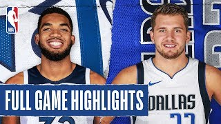 TIMBERWOLVES at MAVERICKS | FULL GAME HIGHLIGHTS | December 4, 2019
