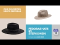 Fedoras Hats By Sterkowski Our Favorites Men's Fedoras