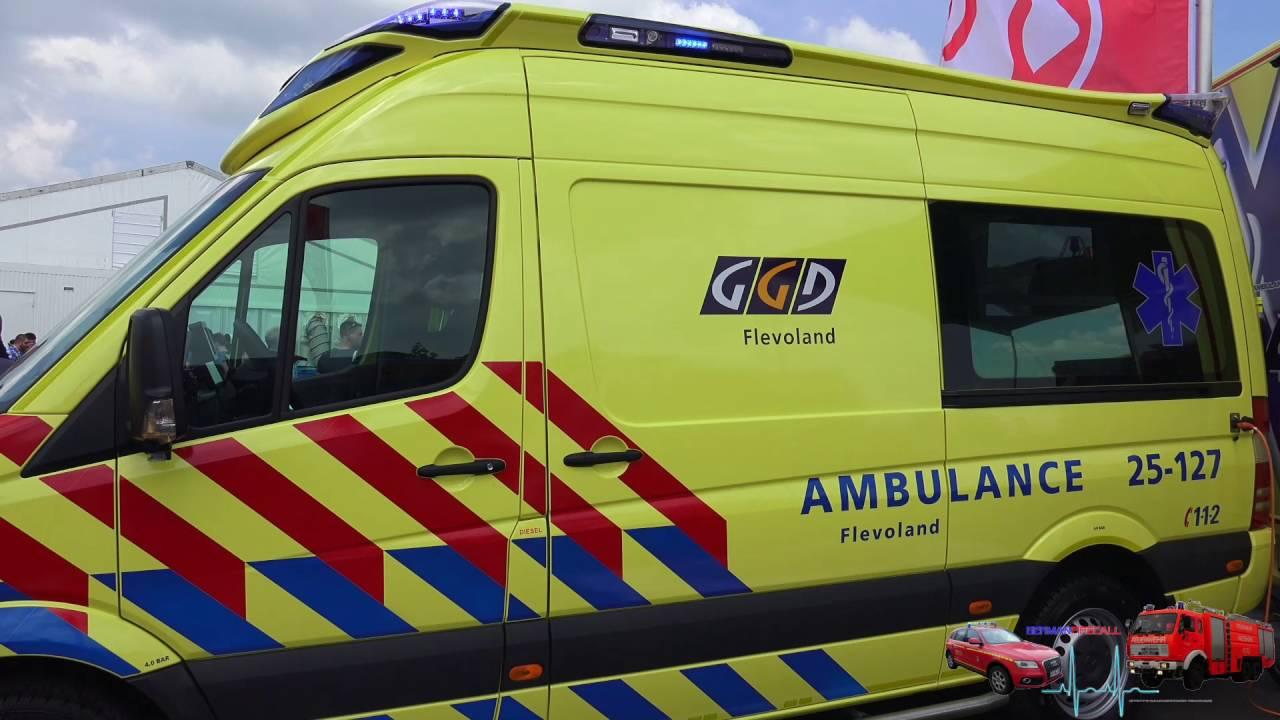 Rettmobil 2016 Ambulance 25 127 Flevoland Youtube
