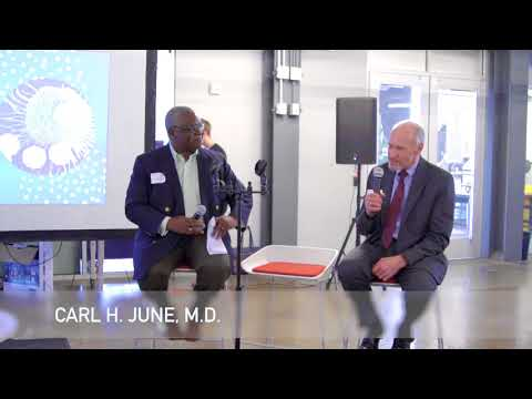 Disrupting Cancer, Philly Tech Week 2018 - Featuring Carl June