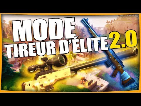 MODE TIREUR D'ÉLITE 2.0 | FORTNITE BATTLE ROYALE Fr