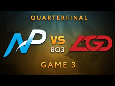 Team NP vs LGD Gaming Game 3 - Dota Summit 7: Quarterfinals