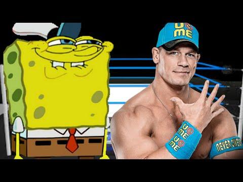 Spongebob SquarePants Vs John Cena 1vs1
