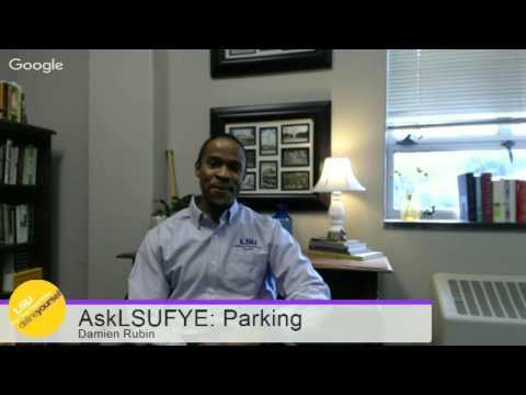 #AskFYE Google Hangout: Parking
