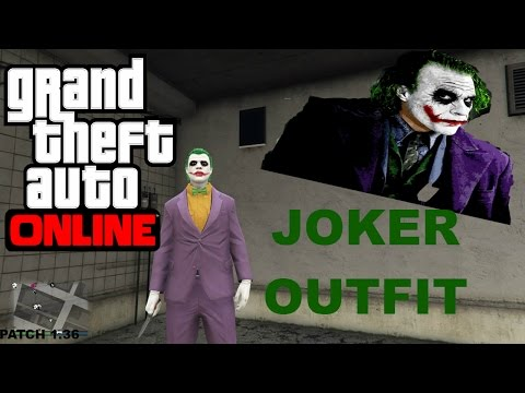 how to make the joker in gta 5 online