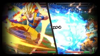 🔥COMBO MORTAL CON GOKU SSJ🔥 Dragon Ball Fighter Z gameplay en Español