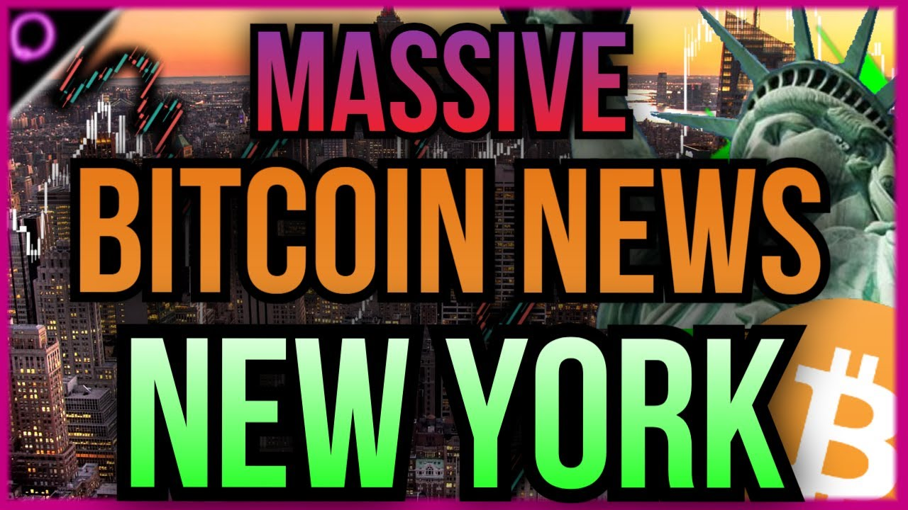 TOP NEWS Coming from New York for Crypto and Bitcoin