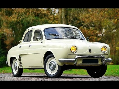 Renault Dauphine, model year 1957