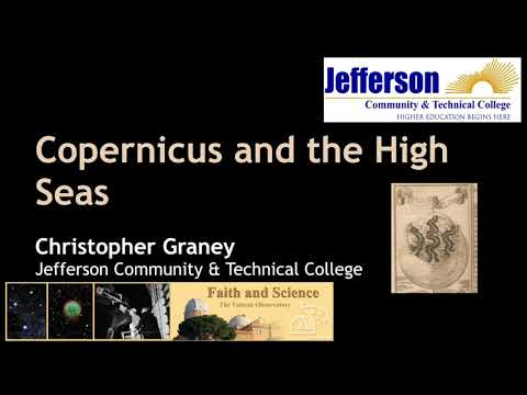Christopher Graney | Copernicus and the High Seas