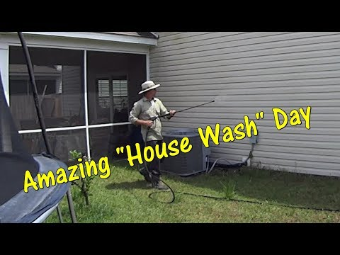 How to Pressure Wash / House Wash Like an $800 a Day Pro!