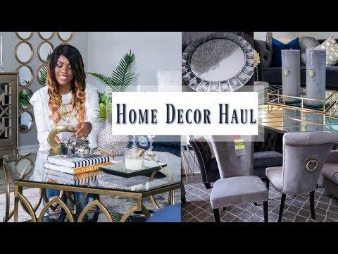 ✨Glam Home✨ NEW HOME DECOR HAUL | GLAM ROOM DECOR