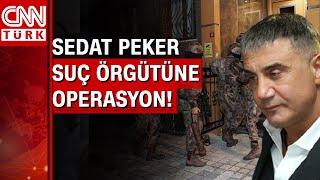 Sedat Peker'in liderliğini yaptığı suç örgütüne operasyon! Sedat Peker nerede?