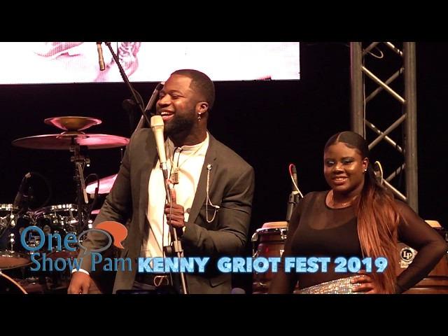 KENNY Performing Live at Griot Fest 2019 with Baky Popile and Franco Love
