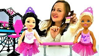Макияж и прически для кукол - Игры в Салон Красоты для девочек