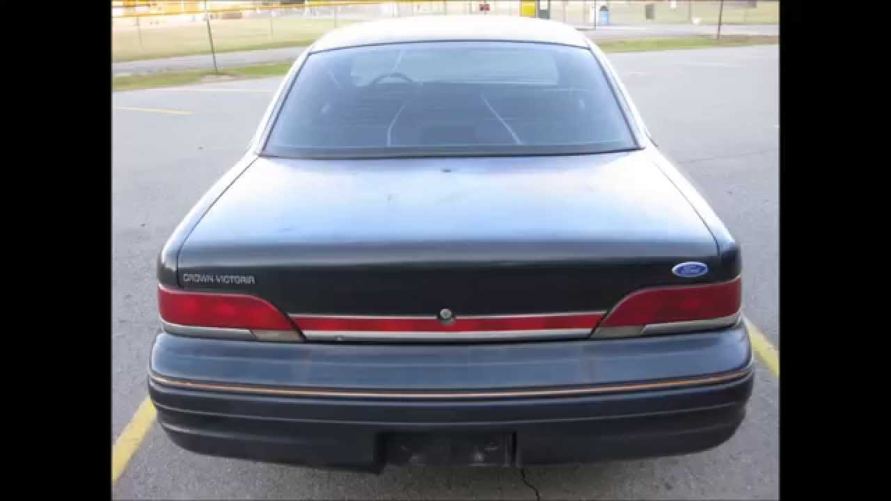 1993 Crown Victoria Police Interceptor For