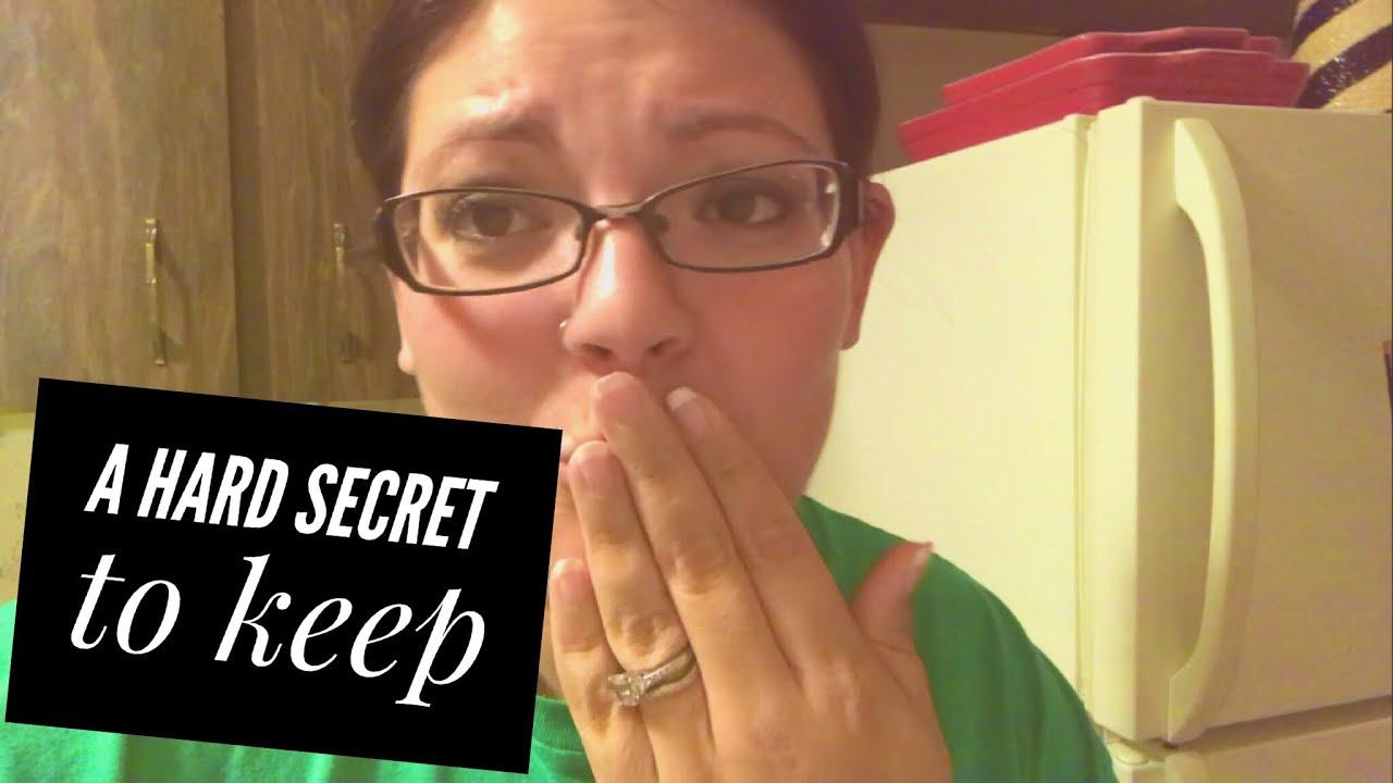 A hard secret to keep