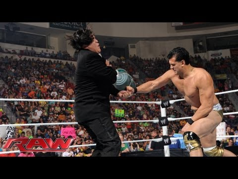 Alberto Del Rio attacks Ricardo Rodriguez: Raw, August 5, 2013