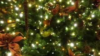 Disney's Grand Californian Christmas Tree And Decorations 2013