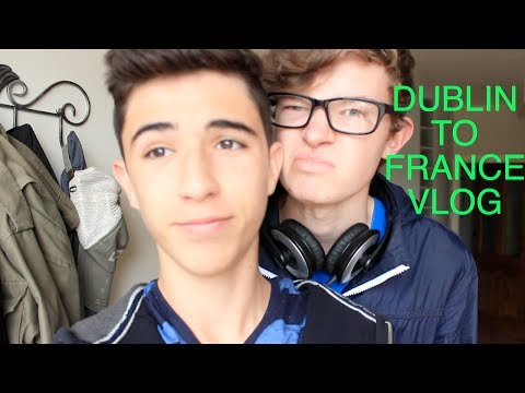 Dublin To France Vlog (FEATURING A FRENCH SUPERMARKET!!!)