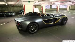 Aston Martin CC100 Speedster Concept 2013 Videos