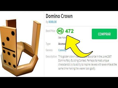 Domino Crown Vendido Por 472 Robux No Roblox By Jeffblox
