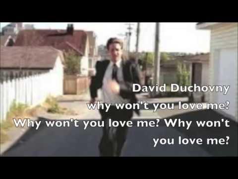 Bree Sharp - David Duchovny (Karaoke Video )