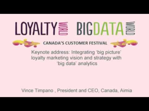 New Era of Marketing & Data: Integrating loyalty marketing and strategy with big data analytics