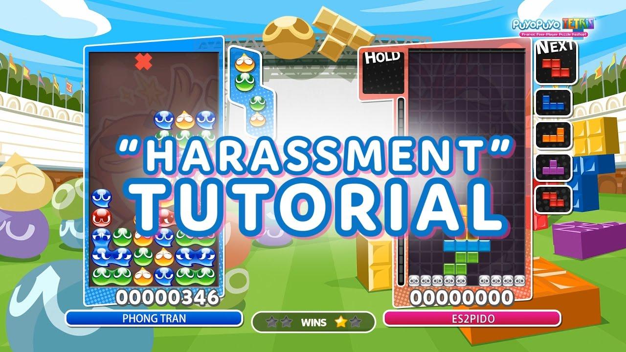 puyo puyo tetris harassment tutorial youtube
