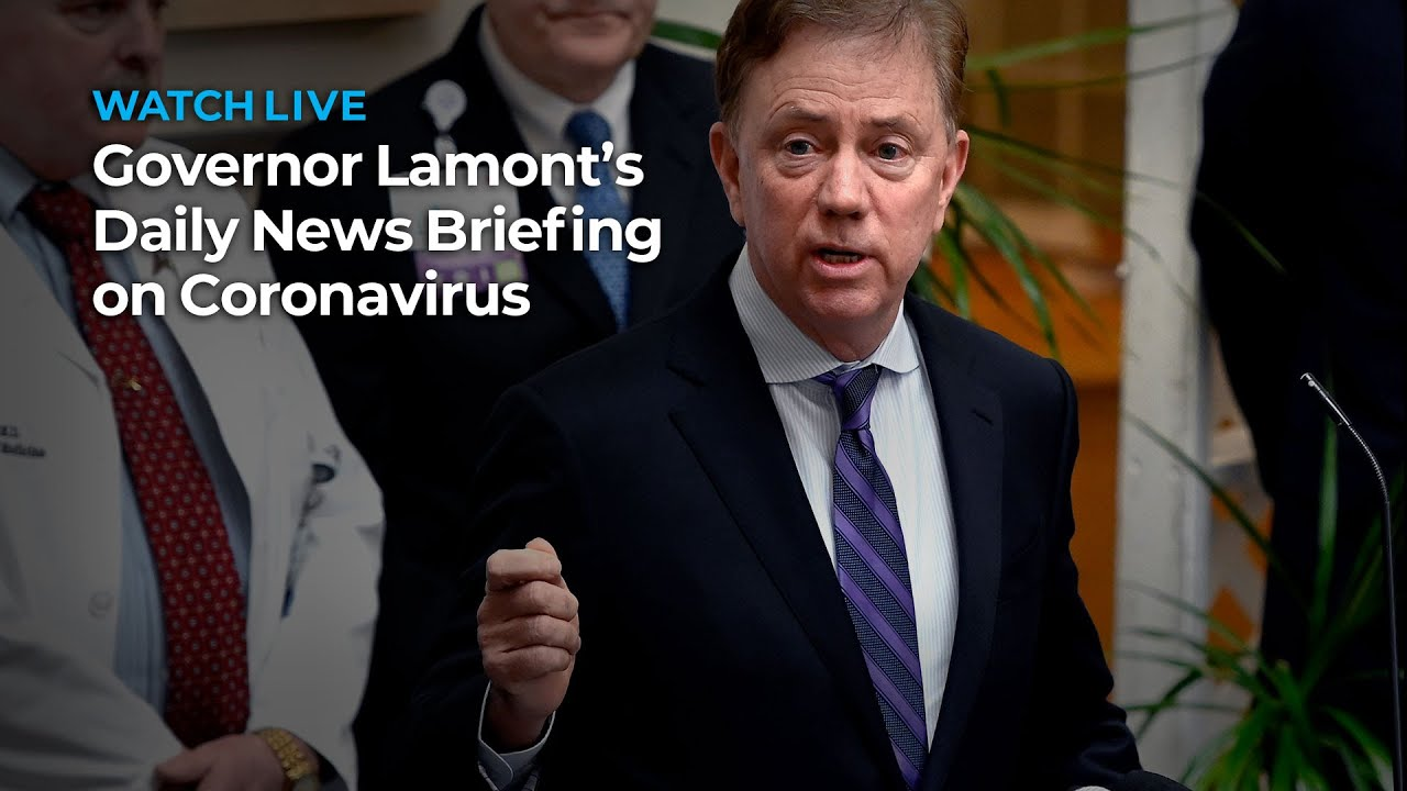 Governor Lamont's Daily News Briefing on Coronavirus: March 8, 2021