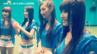 2013/06/25 日本東京巨蛋開球式大家都有收看嗎!! 一起來看看女孩當天下...