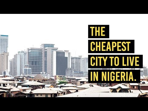 Is this the cheapest city to live in Nigeria?!