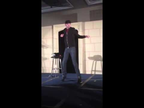 Dj Qualls tricky dance at asylum 8 Birmingham convention