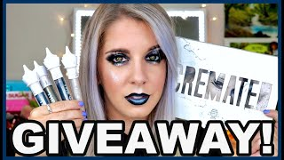 JEFFREE STAR CREMATED COLLECTION || NO BULLSH*T HONEST REVIEW || PLUS GIVEAWAY!! ||