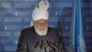 Caliph delivers historic address at UNESCO