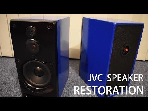 1990's JVC Speaker Restoration