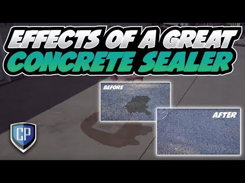 Effects of a Great Concrete Sealer