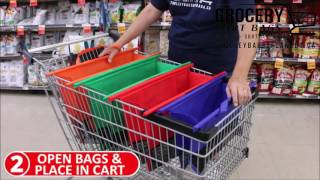 Best reusable grocery bags on earth!