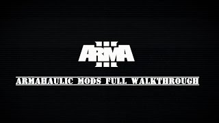 DETAILED ARMA 3 Mod/Add-on install for STEAM